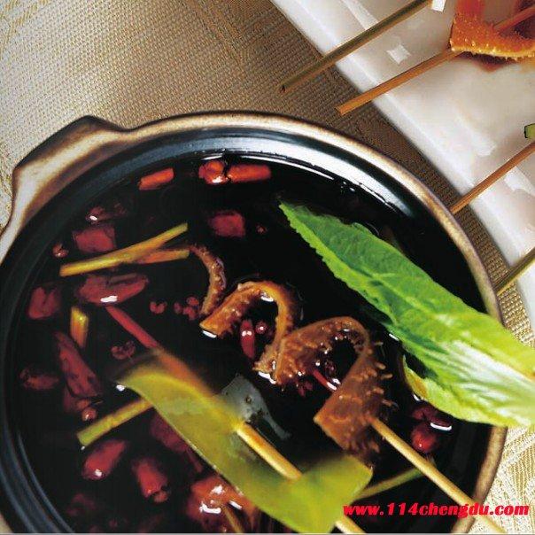 串串毛肚火锅材料