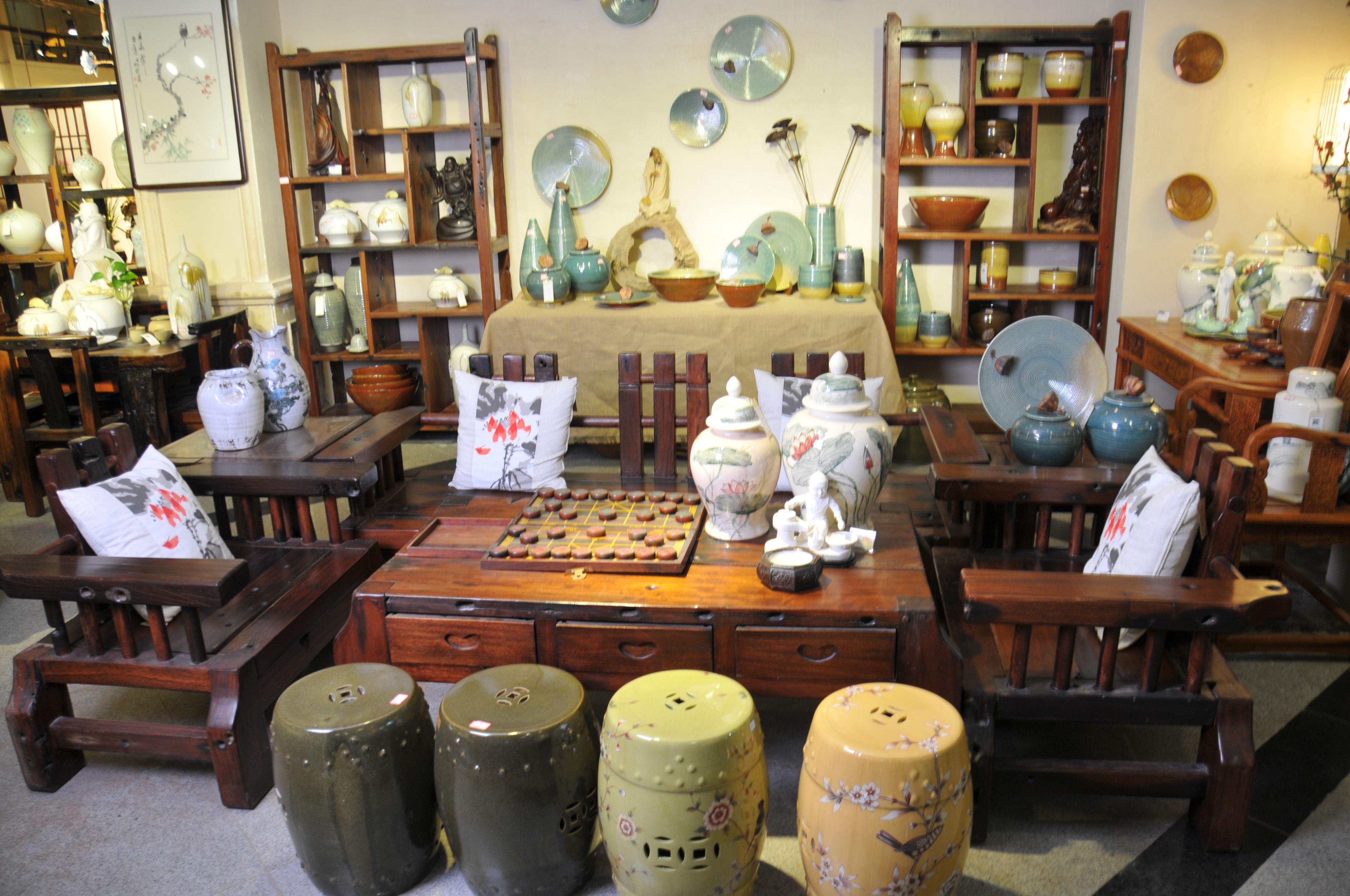 其中红木家具系列——拥有杜邦