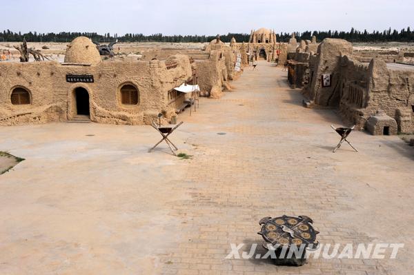 新疆叶城风景图片