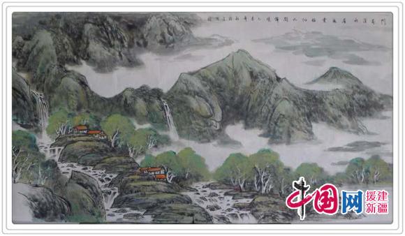 绘画情有独钟,尤其是对祖国山河的眷恋和对人性的最