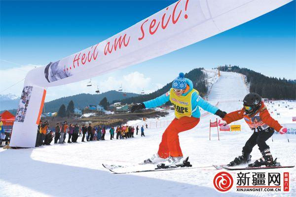 """全域旅游丨乌鲁木齐县依托滑雪场加热""""冷资源"""""""