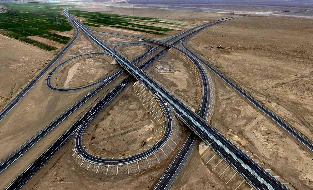京新高速新疆哈密至甘肅明水段即將通車