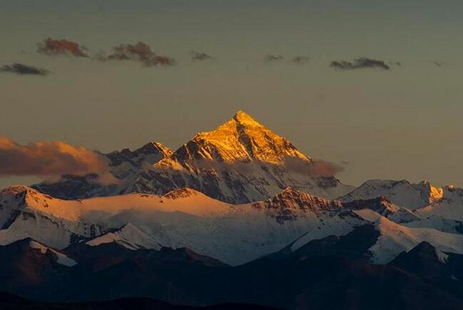 千姿百態的珠穆朗瑪峰