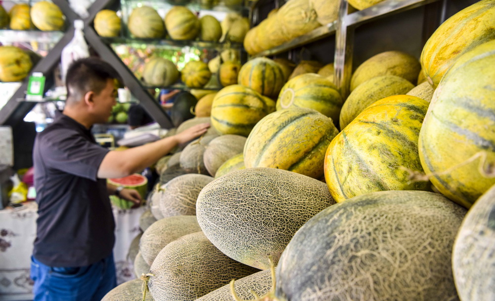 新疆:瓜果飄香