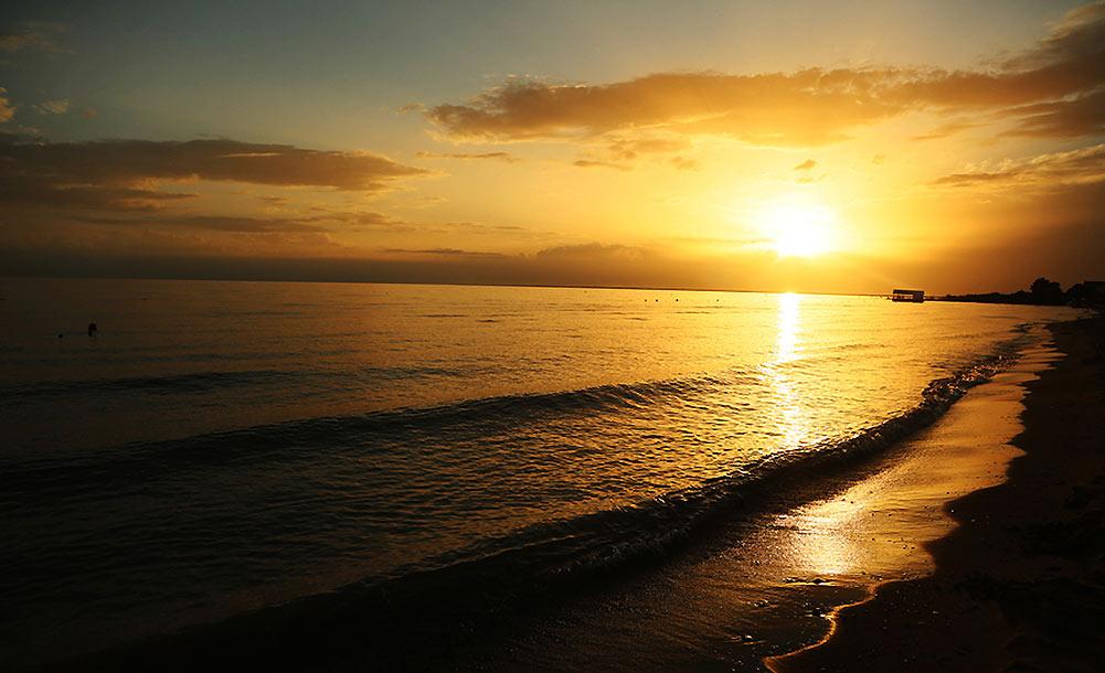 新疆和硕金沙滩丨醉在夕阳下