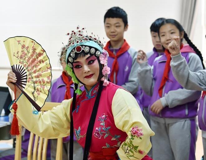 傳統戲曲進校園