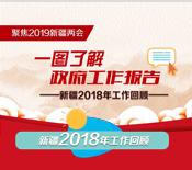 """聚焦地方""""兩會""""丨一圖回顧新疆2018年工作"""