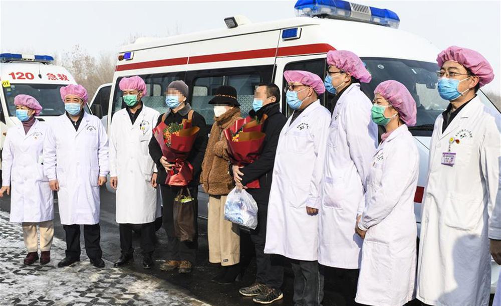 新疆首批3名新冠肺炎患者治愈出院