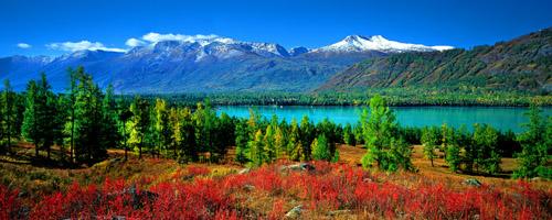 内蒙天山风景图片